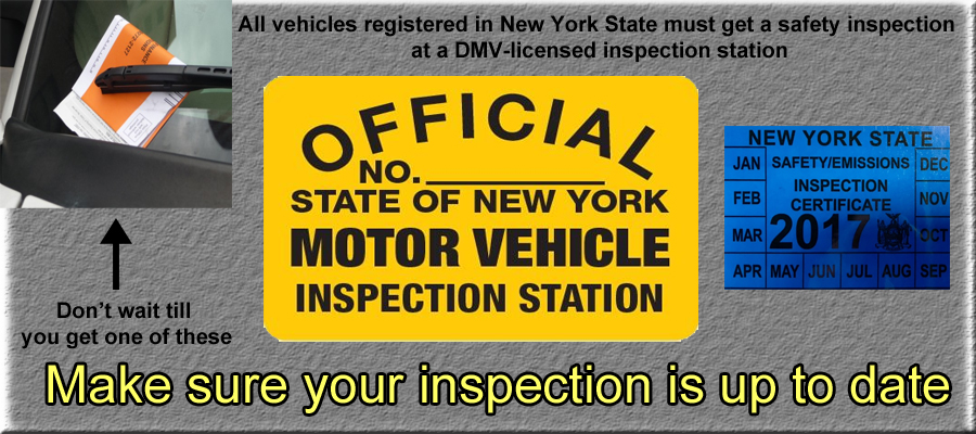 Form VS-1074SD - Vehicle Inspection Record - New York Free